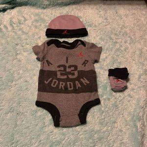 Jordan onzies , hats, socks (4 items)